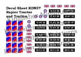 Rapier Tractors & Trailers